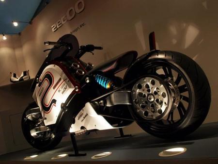Una moto eléctrica a la venta por ocho millones de dólares
