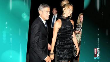 Hay que ver cómo presume George Clooney de churri