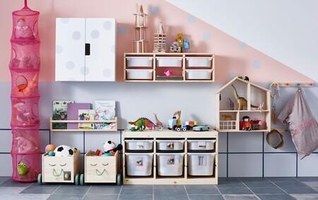 Ikea tiene los organizadores perfectos para tener los juguetes (y las prendas) ordenados