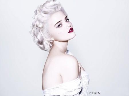 ¿Es Sky Ferreira o es Madonna en los '80? Es Sky para Redken
