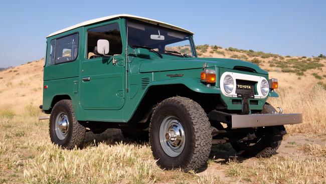 PER-FEC-TO: Alguien ha pagado 100.000 dólares por este Toyota Land Cruiser FJ40 de 1978 con 8.000 km