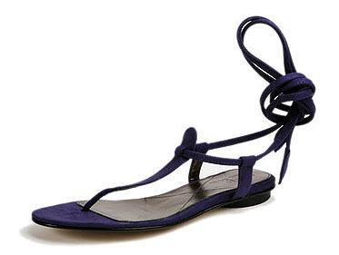 Sandalias de ante para este verano