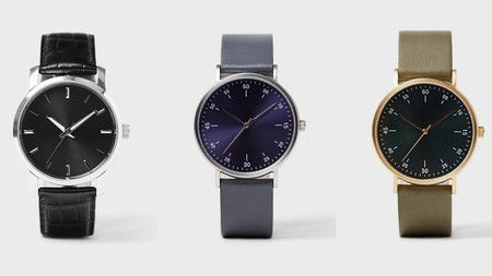 Zara Adopta El Minimalismo En Una Nueva Linea De Relojes La Mar De Elegantes Con Los Que Complementamos El Look De Fin De Ano