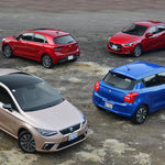 Comparativa: SEAT Ibiza vs. Suzuki Swift vs. KIA Rio vs. Mazda2