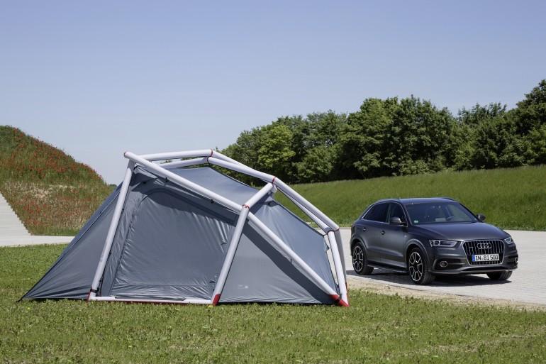 Foto de Tienda de campaña para Audi Q3 (7/12)