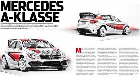 Mercedes AMG estudia su entrada en el WRC si la Fórmula 1 sigue resistiéndose [Inocentada]