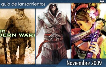 Guía de lanzamientos: noviembre de 2009
