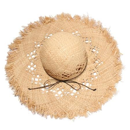 Sombrero Desflecado Y Lazon