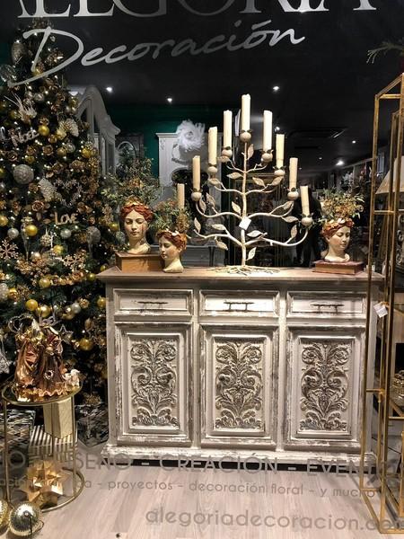 Cabezas decorativas Navidad
