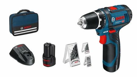 El taladro inalámbrico Bosch Professional GSR 12V-15 está rebajado a 94,90 euros en Amazon mediante una oferta del día