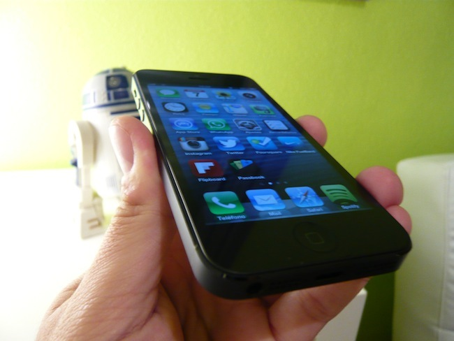 iPhone 5 ligereza