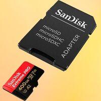 ¿Necesitas muchos GBs para ese smartphone, dron o cámara de acción que te han regalado? Amazon te deja la MicroSDXC SanDisk Extreme Pro de 400 GB por 89,99 euros