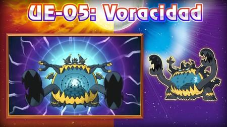 Pokemon Sol Luna Voracidad