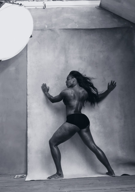 Pirelli Calendar 2016 April Serena Williams Pirelli