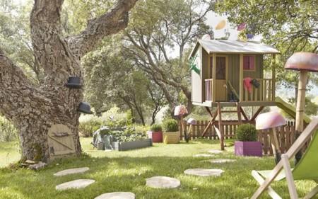 Taller de sueños: un rincón para los peques en el jardín
