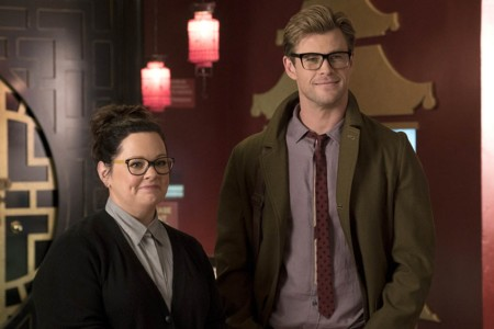 Chris Hemsworth Y Melissa Mccarthy En Cazafantasmas