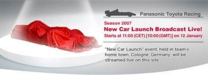 Toyota presenta el TF107 el viernes