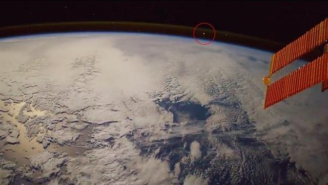 Este meteorito entrando en la Tierra se avistó desde la Estación Espacial Internacional