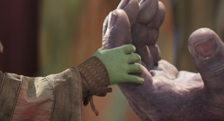 Gamora y Thanos