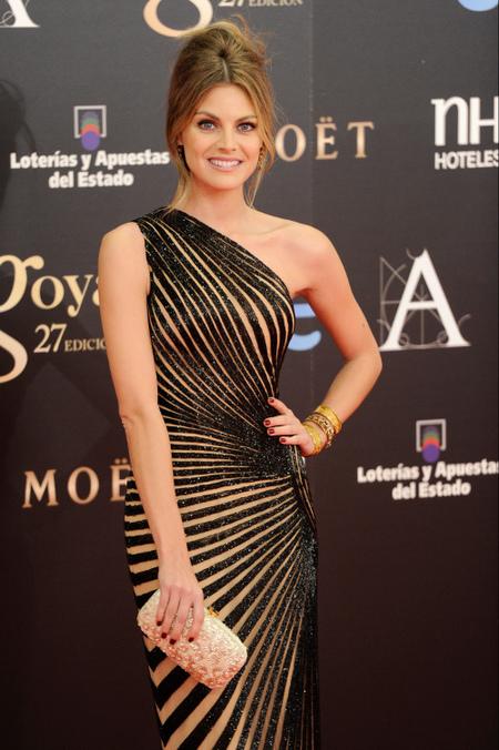 Premios Goya 2013: Amaia Salamanca, con un fabuloso vestido de Zuhair Murad