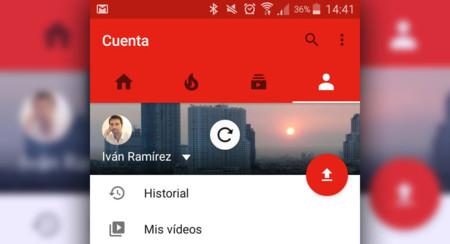 Ya puedes arrastrar para actualizar en la aplicación de YouTube