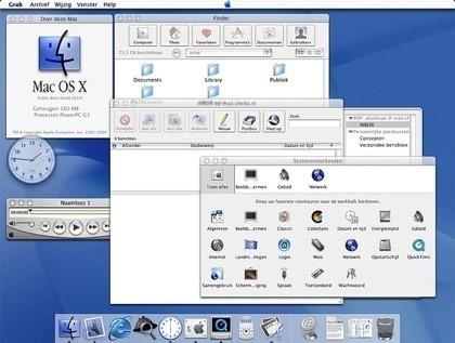 Mac OSX cumple 6 años
