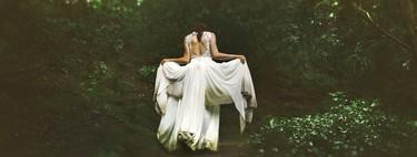 Las nueve tendencias en vestidos de novia para el campo que brillan mejor al aire libre