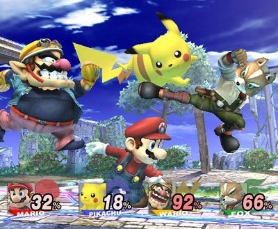 Abierta la web de Smash Bros Brawl