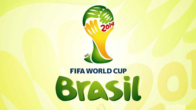 FIFA World Cup Brasil 2014 tarjetas X203 en una carpeta.