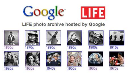 El archivo de Life en Google