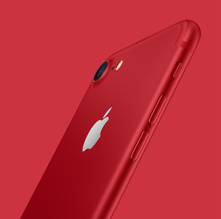 iPhone product red