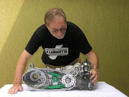 Motor Lambretta Twin
