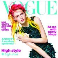 Las revistas Vogue se apuntan a la moda neón