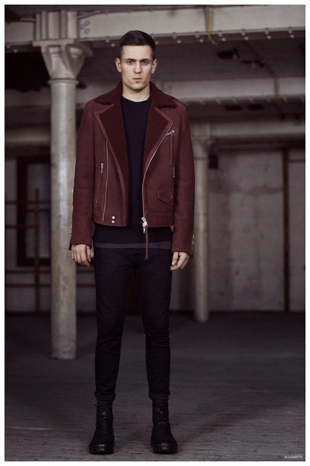 Allsaints Fall Winter 2015 Menswear Collection Louis Simonon 001