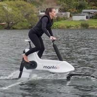 Ni bicicleta eléctrica, ni moto de agua: este invento es un nuevo deporte en sí mismo previo pago de 8.000 euros