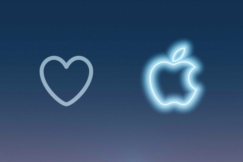 Like a tweet about #AppleEvent has this curious animation