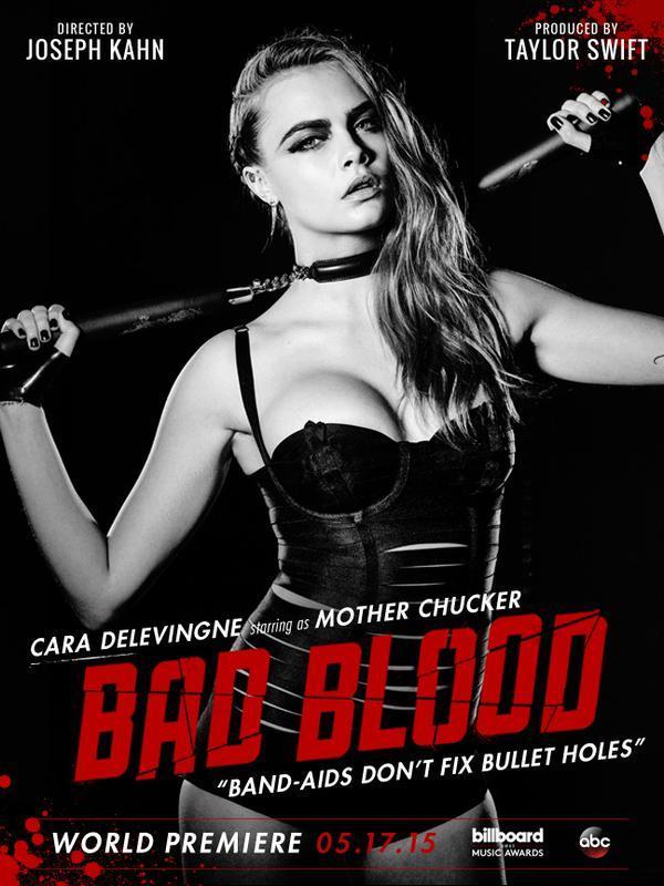 Foto de Taylow Swift en el vídeo de Bad Blood (1/20)