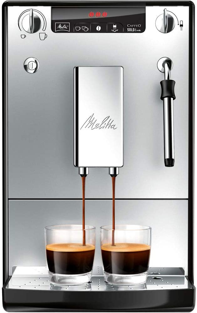Melitta Caffeo Solo&Milk E953-102 Cafetera Superautomática con Sistema de Leche