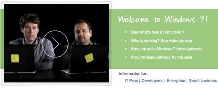 Windows 7 beta, parece que ahora sí