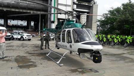 Helicoptero Medellin 1