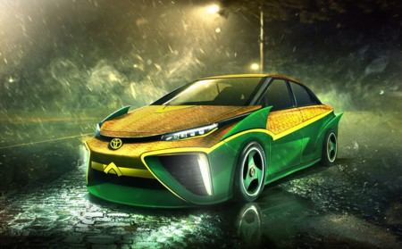 El Toyota Mirai de Aquaman