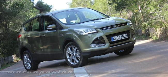 Ford Kuga 2013, toma de contacto en Valencia