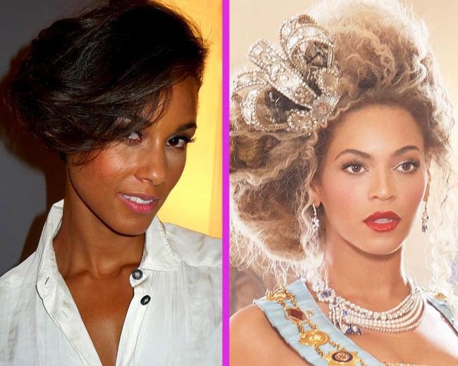 Alicia Keys y Beyoncé