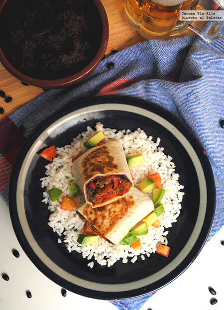 Burritos Vegetarianos