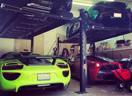 Michael Fux y su impresionante colección de coches