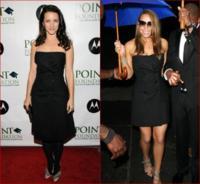 Mariah Carey y Kristin Davis, ¿cómo dos gotas de agua?