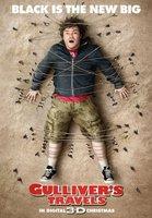 'Los viajes de Gulliver' con Jack Black, cartel