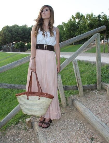 falda rosa a trendy life