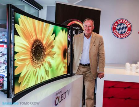 Samsung también se trae sus televisores OLED curvados a Europa: 7.999 euros
