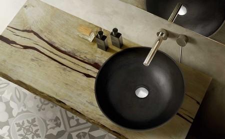 Ríndete ante la elegancia de la madera en el baño: encimeras para ...